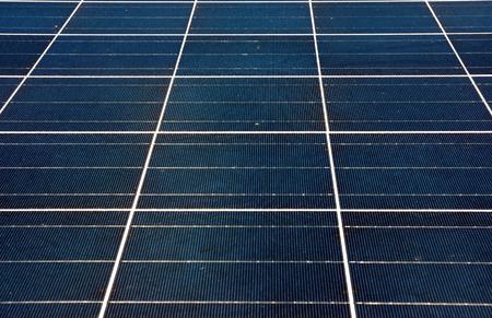 pv: Solar Panal Array Stock Photo