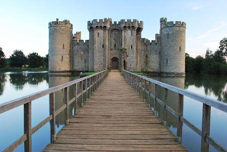 sussex: Bodiam Castle in East Sussex