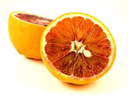 citrus  sinensis: The blood orange is a variety of orange (Citrus sinensis) with crimson, blood-colored flesh.