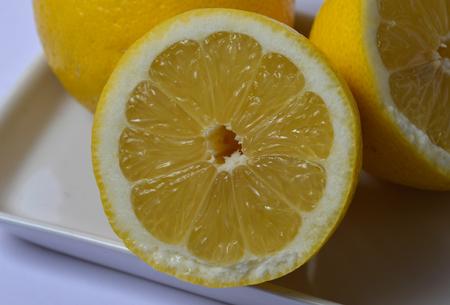 médula: A dish of lemons