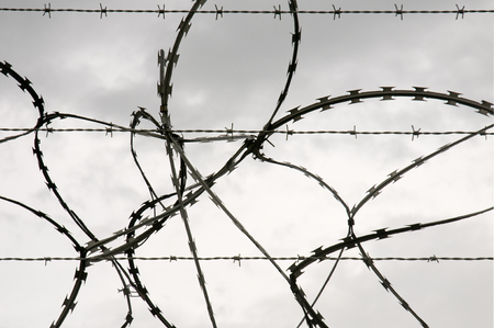razorwire: razorwire and barbed wire