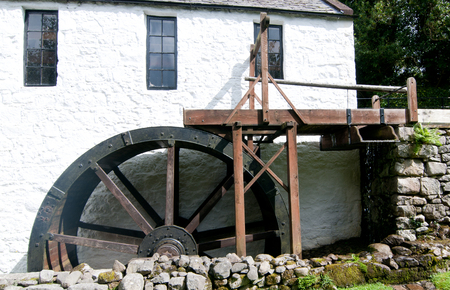 molino de agua: An Old Scottish Watermill