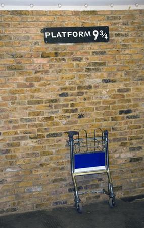 granger: Platform 9 34 for Hogwarts