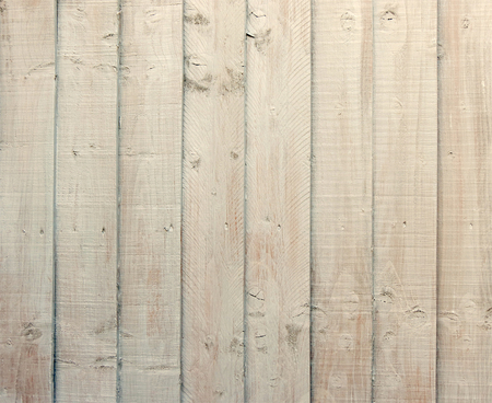 Wooden strips of cream colored painted wood