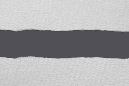 torn paper strips showing a gray background with copy space