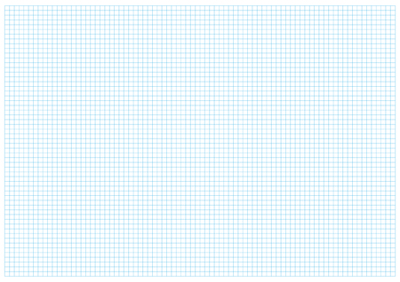 Blue geometric grid lines on a white background Ilustrace