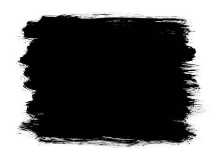白い背景に隔離された抽象的な形状を描いた