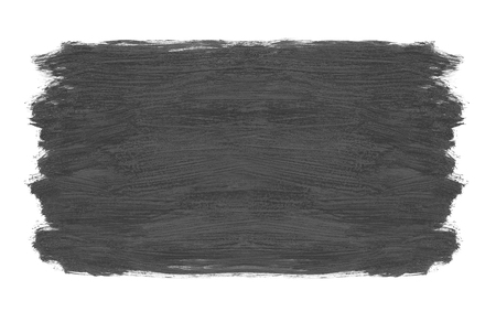 Grey Brush stroke background texture isolated on a white background