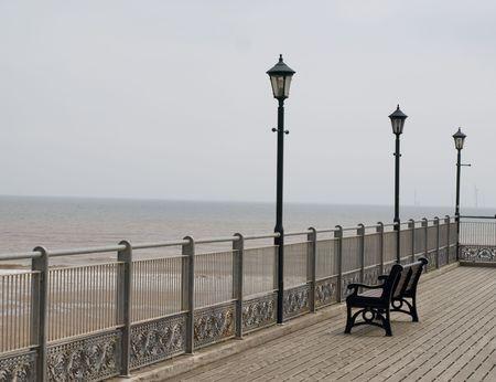 Victorian pier photo