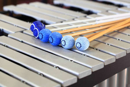 soft pedal: Vibraphone Mallets and Keys