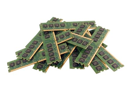 dimm: Heap of memory modules DDR2, isolated