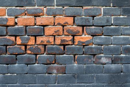 besmirched: Besmirched brick wall