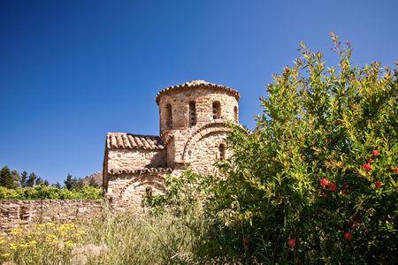 byzantine: Byzantine Church in Fodele, Crete, Greece  Stock Photo
