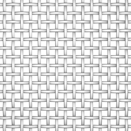wire mesh: Metal wire mesh isolated on the white background Stock Photo