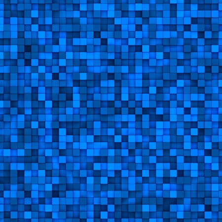Blue mosaic tiles. Abstract colorful background photo
