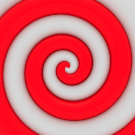 Abstract background of vibrant red spiral swirl photo