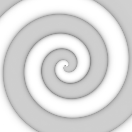 concentric circles: Abstract background of gray spiral swirl