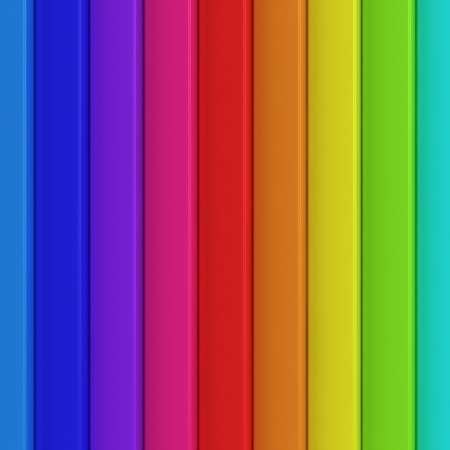 Striped background of rainbow colors photo