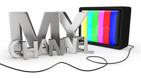 My personal video channel concept Stock Photo - 20047159