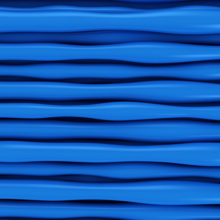 curvature: Abstract blue curve lines background Stock Photo