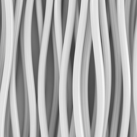 Abstract white curve lines background photo