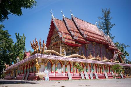 phra nang: Buddhist temple Wat Phra Nang Sang in Phuket, Thailand