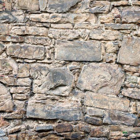 paredes de ladrillos: Textura real de viejos ladrillos de piedra. foto de fondo calidad de ladrillo. Bueno para 3D funciona o fondo de pantalla, fondo