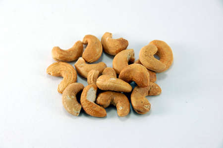 titbits: small nut from American tree Stock Photo