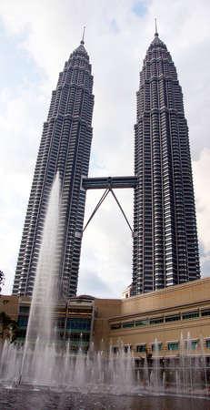 moderm: Twin towers of Kuala Lumpur Editorial