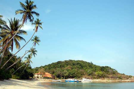 honey moon: Resort island jetty,  Pulua Redang, Malaysia