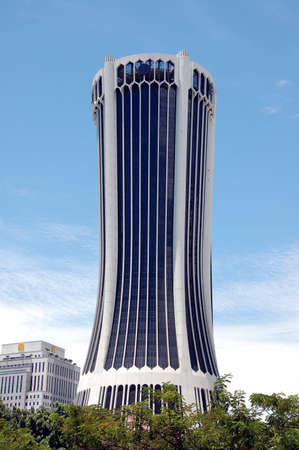 characteristic: office tower block with islamic characteristic