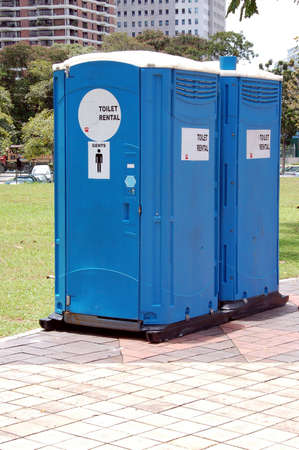 let: portable toilets to let