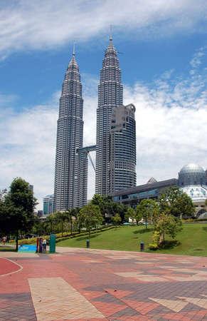 moderm: KLCC tower in Kuala Lumpur Malaysia