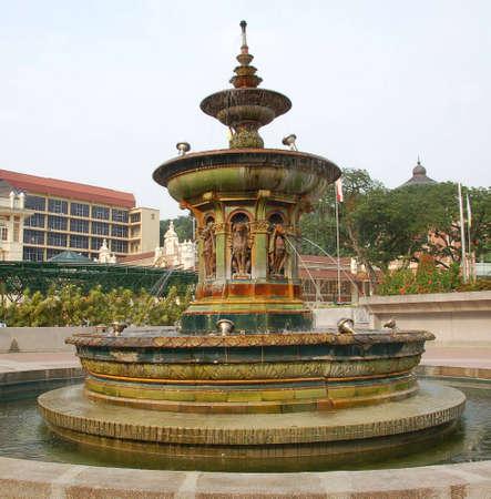graden: old fountain in Kuala Lumpur