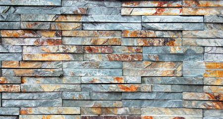 unpolished: unpolished marble wall showing diference shades Stock Photo