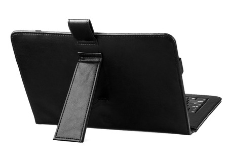 durable: Case cover closed front for tablet on white background colors