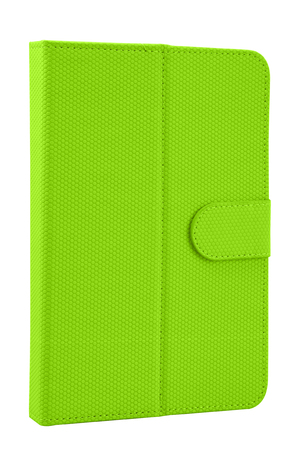 Case cover closed front for tablet on white background colors