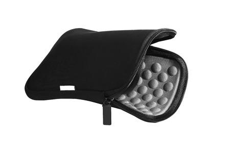 Tablet case cover bag black material zip pocket 版權商用圖片