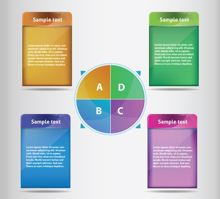 organization structure: Editable presentation Illustration