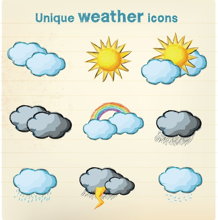 cloudy night sky: Weather icon