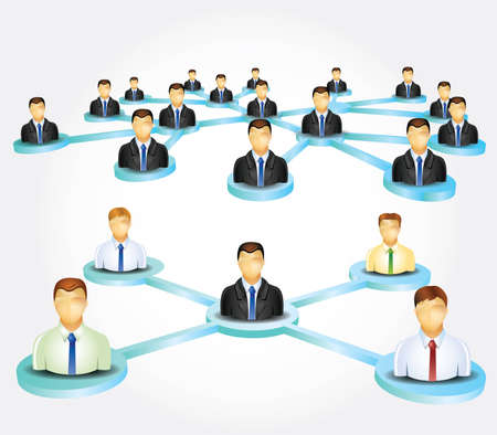 employed: Business network