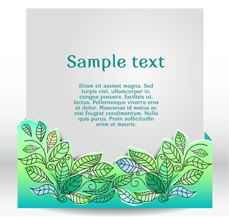 hand drawn banner, vector illustration Vector