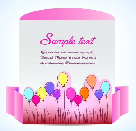Lovely banner Vector