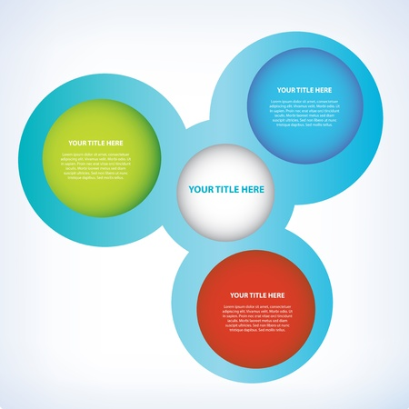 Bubble Style Presentation Vector