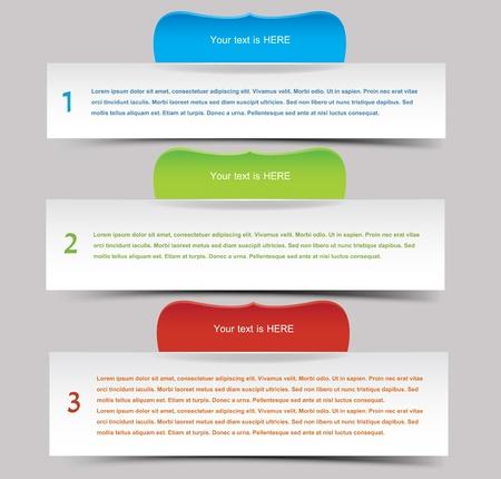 チラシ: Web バナーを設定  イラスト・ベクター素材
