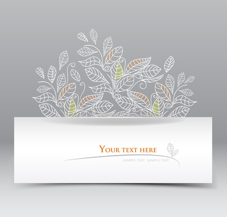 elegant web banner Stock Vector - 13179392
