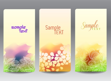 elegant labels, vector Vector