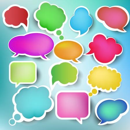 Speech Bubbles, vecteur Illustration