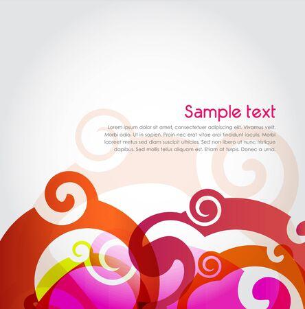 Spiral background, vector Illustration