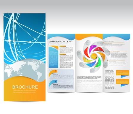 folleto: Vector Folleto, la ilustraci�n